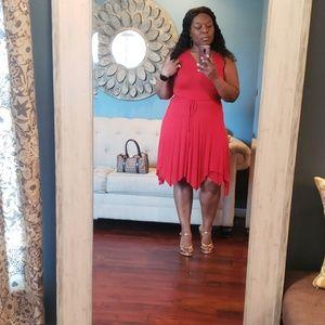 ❣ Ralph Lauren Red Dress